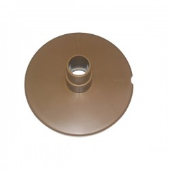 Tapa skimmer marrón para conexión limpiafondos GRE 068240007M