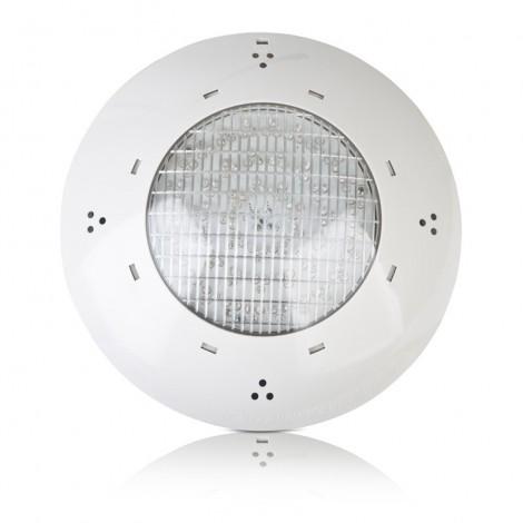 Proyector 144 LEDs blanco piscina enterrada hormigón GRE PLBH144