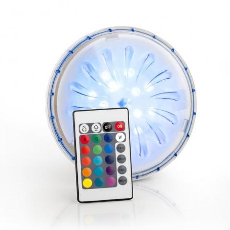 Luz LED imán de colores piscina elevada GRE PLED1C
