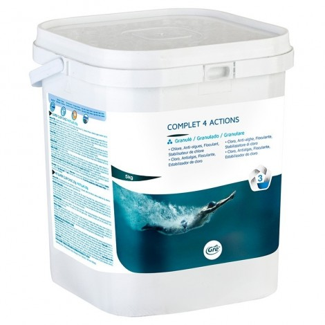 Complet cloro 4 acciones granulado 5 kg GRE 76034