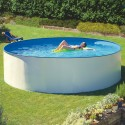 Piscina desmontable GRE redonda Splasher KITPR35501 filtro colgante