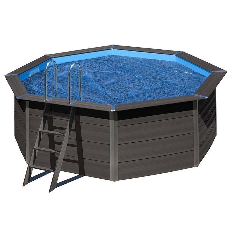Cubierta verano piscina gre redonda composite 400 micrones for Piscinas gre barcelona