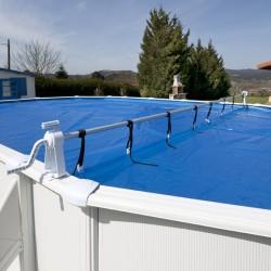 Enrollador cubiertas piscinas elevadas GRE 40135
