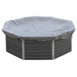 Cubierta de invierno piscina redonda Composite 580 g/m²