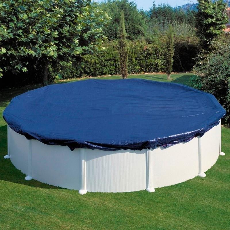 Cubiertas invierno piscinas redondas for Lona piscina redonda