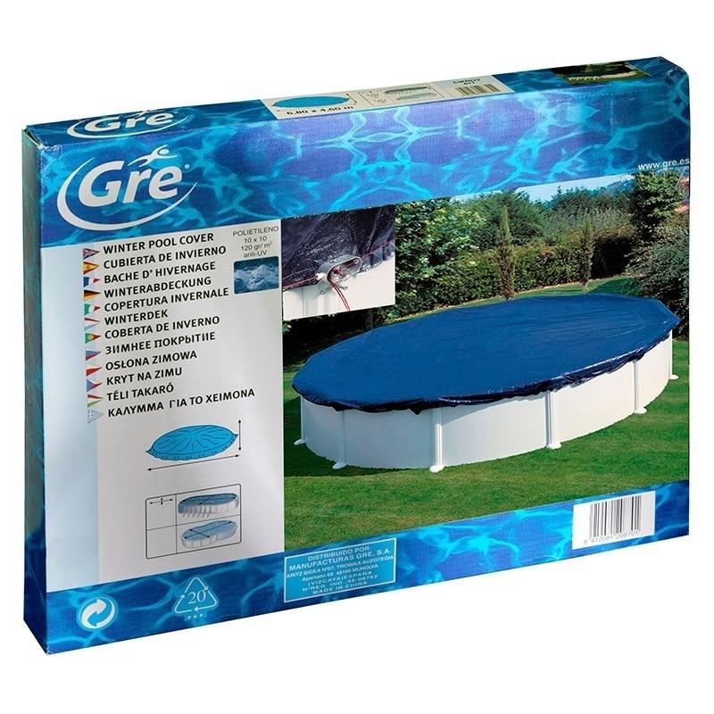 Cubiertas invierno piscinas redondas for Cubierta piscina desmontable