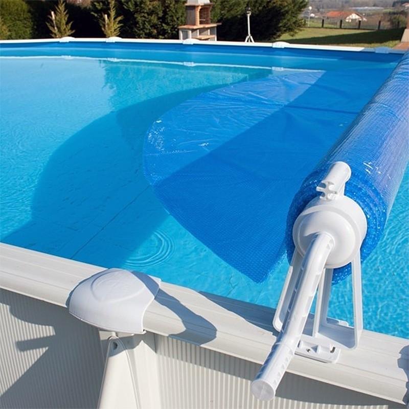 Enrollador cubiertas piscinas elevadas gre 40135 piscinasbcn for Cubierta piscina desmontable