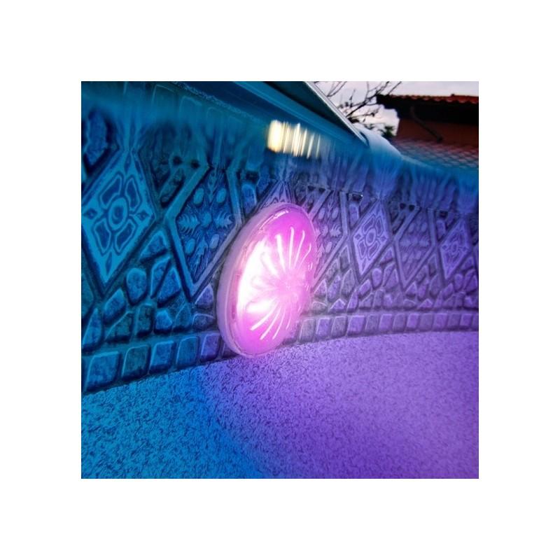 Luz led im n de colores piscina elevada gre pled1c for Focos piscina led colores