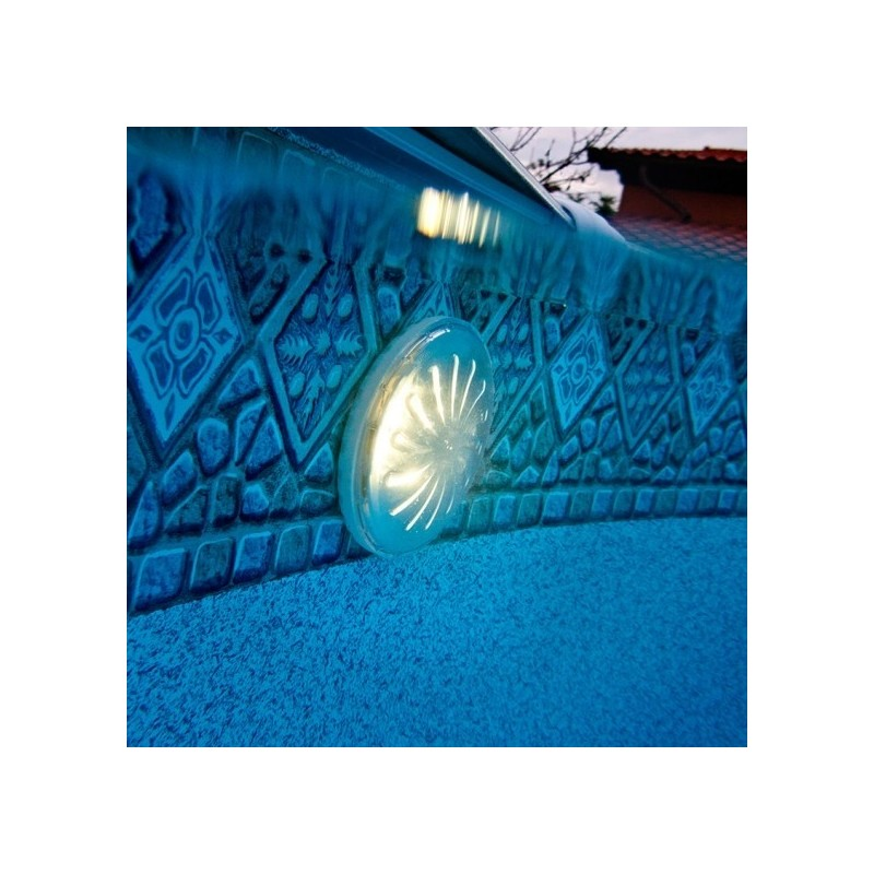 2 luces led im n blancas piscina elevada gre pled2 for Luces led piscina