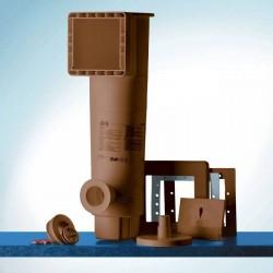 Filtro de cartucho GRE AR125M (marrón) 3800 l/h