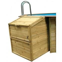 Caseta local técnico de madera Gre