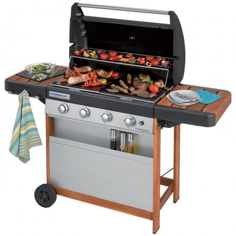 Barbacoa A GAS CAMPINGAZ 4 Series L Woody