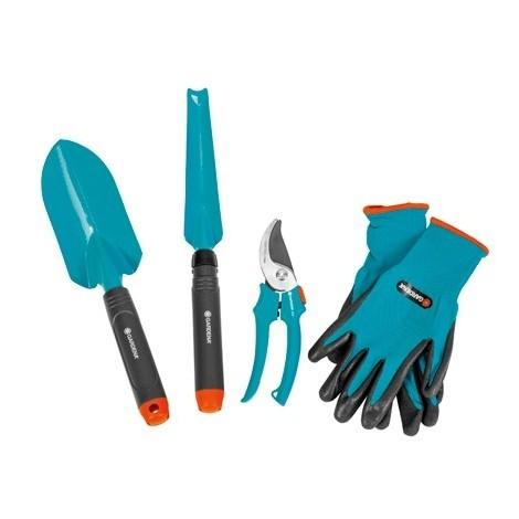Set herramientas Gardena Inicio Jardin 4 piezas