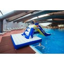 Plataforma para tobogán Pool Slide Pad Zulu Aquaglide