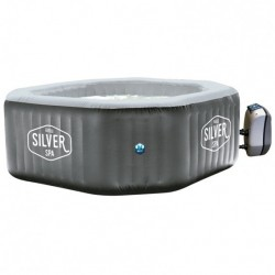 SPA Hinchable NetSpa Silver 5-6 plazas