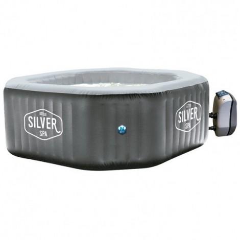 SPA Hinchable NetSpa Silver 5-6 plazas