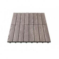 Base de ducha imitación madera GRE SBP4
