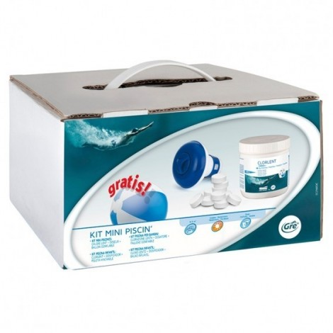 Kit de tratamiento para piscina de 0 a 5 m³ GRE 76053