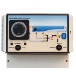 Cuadro eléctrico para 1 filtro, electrólisis e iluminación
