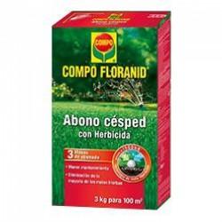Abono césped COMPO Floranid herbicida