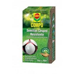 Semillas césped resistente COMPO 1kg