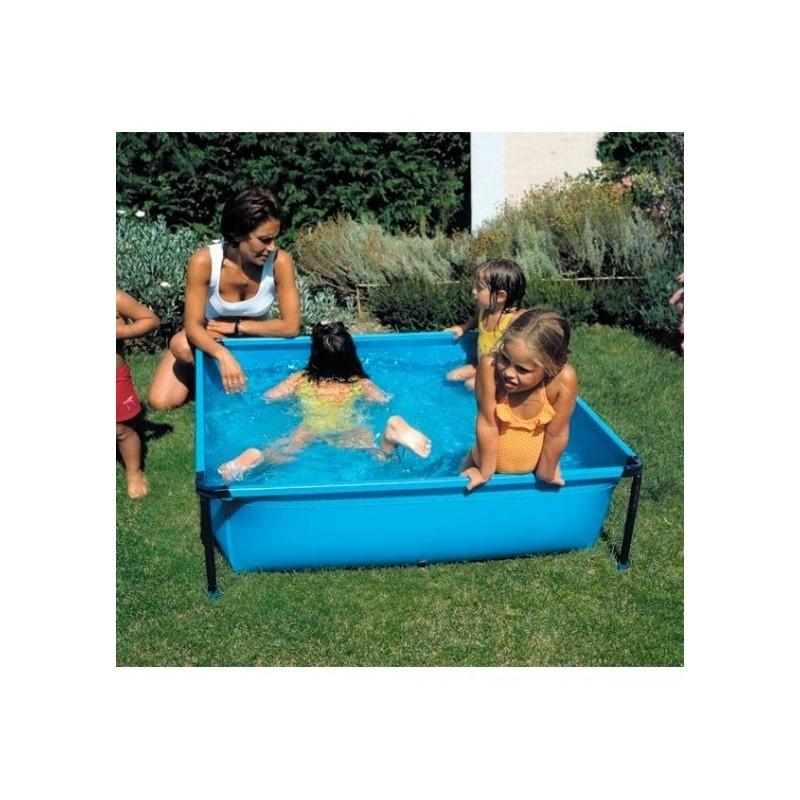 Piscina infantil cuadrada 125x125x35 cm gre y25 for Piscinas gre barcelona
