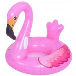 Flamenco rosa gigante hinchable para piscina