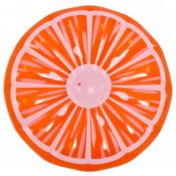 Flotador gigante gajo de naranja hinchable para piscina