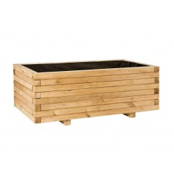 Jardinera rectangular 50 x 100 cm