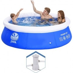 Piscina hinchable azul 300 x 76 cm Jilong 10202EU