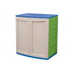 Armario resina exterior 1 estante