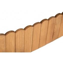 Bordo de Tablas de madera tratada 120x20cm.