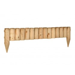 Bordura fija de madera
