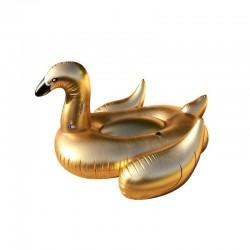 cisne-hinchable-piscina-dorado