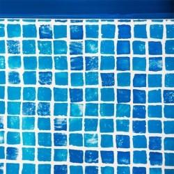 Liner gresite piscina GRE ovalada altura 132cm