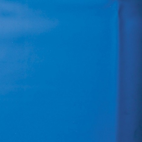 Liner azul piscina GRE ovalada altura 132 cm