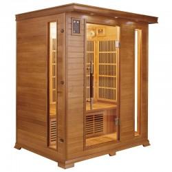 Sauna infrarrojos Luxe France Sauna 3 personas