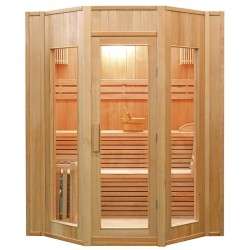 Sauna de vapor Zen France Sauna 4 personas