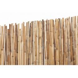 Cañizo bambú natural entero rollos de 2 x 5 m