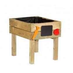 Huerto urbano para niño de madera Kitchenbox 50x45x50 cm