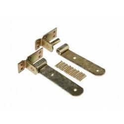 Kit bisagras para madera 2 unidades