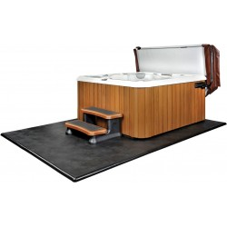 Tapiz para base de spa jacuzzi Smart Deck 240 x 240 cm