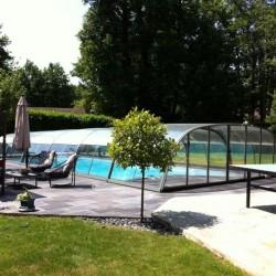 Cubierta baja de piscina