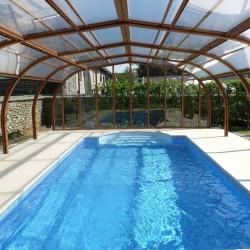 Cubierta alta de piscina