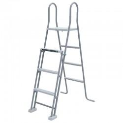 Escalera de seguridad con plataforma 120-132 cm Gre