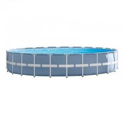 Piscina desmontable Prisma Frame circular 457x84 con depuradora Intex 26728NP