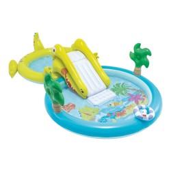 Centro de juegos hinchable Hippo con tobogán Intex 57150NP
