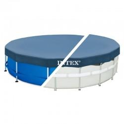 Cobertor circular piscinas Metal Frame Intex