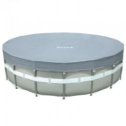 Cubierta circular piscina Intex Deluxe