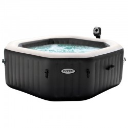 Spa hinchable PureSpa Deluxe 6p Jets y burbujas Intex 28456